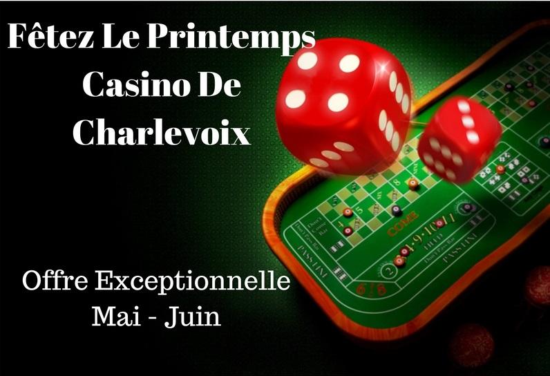 Forfait casino charlevoix mirage