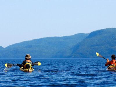 kayak de mer Charlevoix